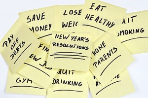 resolutions on post its